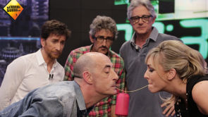 Josema Yuste, David Fernández y Felisuco