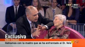 Niños robados: Cara a cara con el doctor Vela