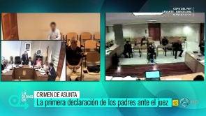 Las primeras declaraciones de Rosario Porto y Alfonso Basterra