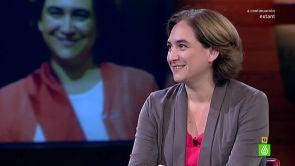 """(29-06-15) Ada Colau: """"Adrià Alemany se incorpora a Bcomú por compromiso y por convicción, no por dinero"""""""