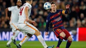 Partido: F.C. Barcelona - A.S. Roma