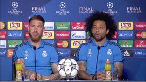 Rueda de prensa del Real Madrid