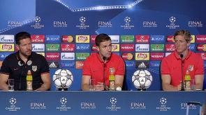 Rueda de prensa del Atlético de Madrid