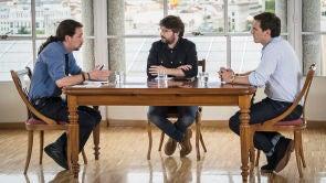 Pablo Iglesias y Albert Rivera, partido de vuelta
