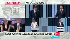 Post - 13J: El debate - Especial Antena 3 Noticias