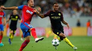 Partido: Steaua de Bucarest - Manchester City