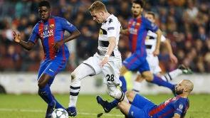 Partido: F.C. Barcelona - Borussia Mönchengladbach