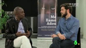 (01-03-17) Gonzo entrevista al padre de Adou, 'el niño de la maleta'