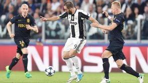 Partido:  Juventus - Mónaco