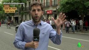 """(29-08-17) Así vivió El Intermedio las primarias del PSOE: """"¿El partido se puede coser o hay que comprar uno nuevo?"""""""