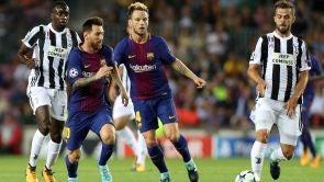Partido: F.C. Barcelona - Juventus