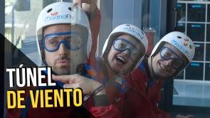 Volamos en el túnel de viento de 'Madrid Fly'
