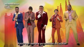 """(02-01-18) """"Necesito dialogar, estoy cansado de vivir en un culebrón"""": el videoclip de El Intermedio al ritmo de 'Amigos para siempre' sobre Cataluña y España"""
