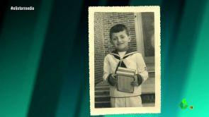 """(01-02-18) """"¡Qué día más triste!"""": Wyoming recuerda su primera comunión mostrando una fotografía vestido """"de marinerito"""""""