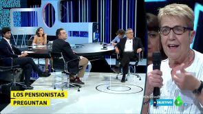 PP, PSOE, Podemos y C's  ante los pensionistas