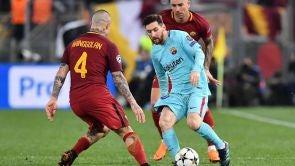 Partido: Roma - F.C. Barcelona