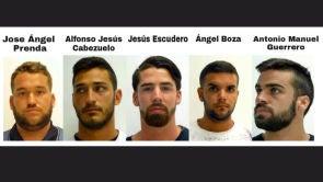 (26-04-18) Condenan a nueve años de cárcel a los miembros de 'La Manada' por un delito de abuso sexual continuado