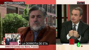 """(04-05-18) - Zapatero: """"Eguiguren es uno de los grandes héroes del país contra ETA, como lo son los guardias civiles"""""""