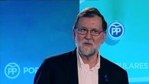 """(05-05-18) Rajoy: """"Aunque desaparezca ETA, el daño no va a acabar porque causaron daños irreparables"""""""