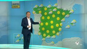 (07-05-18) Mañana, chubascos generalizados y descenso térmico en el norte peninsular