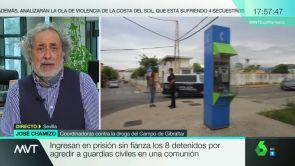 """(18-05-18) José Chamizo, exdefensor del pueblo andaluz: """"Lo más grave en Algeciras es la arrogancia con la que actúan los narcotraficantes"""""""
