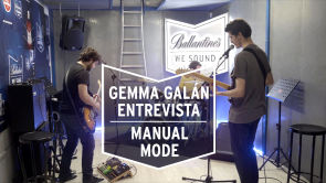 Gemma Galán entrevista a 'Manual Mode' en su ensayo | We Sound
