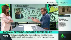 """(22-05-18) """"Habrían descubierto a Zaplana intentando aflorar dinero"""": Dani Cervera da las claves sobre la Operación Erial"""