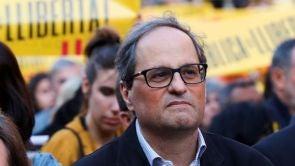 """(09-06-18) Quim Torra, sobre la posible reforma de la Constitución: """"Bienvenidas todas las propuestas"""""""
