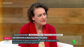 (10-06-18) Magdalena Valerio, ministra de Trabajo