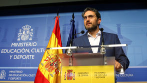 """(13-06-18) Máxim Huerta anuncia su dimisión: """"Me voy porque necesitamos transparencia hasta cuando no hay nada turbio"""""""