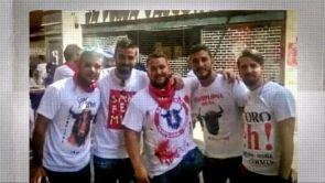 (23-06-18) Los cinco integrantes de 'La Manada' ya se encuentran en Sevilla tras su puesta en libertad