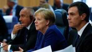 (24-06-18) Sánchez confía en que la UE logre un acuerdo migratorio conjunto tras su estreno en Bruselas