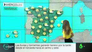 (26-06-18) Las temperaturas descienden mañana en gran parte del país