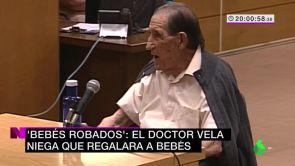 (26-06-18) 'Bebés robados': El doctor Vela niega que regalara a bebés