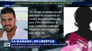 "(06-07-18) La funcionaria que atendió al Guardia Civil de 'La Manada': ""No manifestó ningún interés en renovarse el pasaporte"""