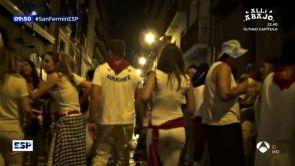 (09-07-18) Una reportera de Espejo Público, víctima de tocamientos y comentarios sobre su físico en San Fermín