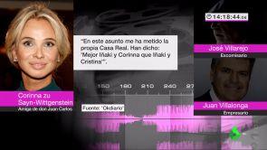"""(11-07-18) Corinna afirma que el rey Juan Carlos I la usaba como testaferro y que tenía cuentas en Suiza: """"Lo hacía porque resido en Mónaco"""""""