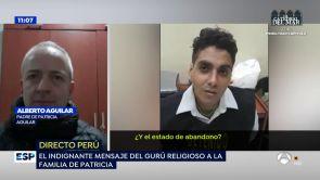 """(11-07-18) Las declaraciones del gurú que captó a Patricia Aguilar en una secta: """"Tenía una relación disfuncional con sus padres"""""""