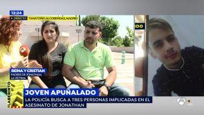 """(12-07-18) La madre del joven asesinado en San Sebastián de los Reyes: """"Le pido a España que me ayude a encontrar a los 3 asesinos de mi hijo"""""""