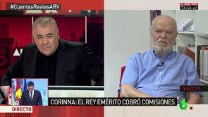 """(12-07-2018) Martín Pallín: """"Sí se podría investigar al rey emérito por la etapa anterior a la abdicación"""""""