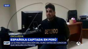 """(13-07-2018) EXCLUSIVA: La chulería del gurú que captó a Patricia Aguilar en una secta: """"No me hagan tortura psicológica"""""""