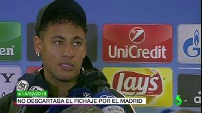"""(14-07-18) Neymar nunca ha descartado su fichaje por el Real Madrid: """"A ver... las cosas cambian tanto"""""""