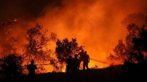 (09-08-18) Los bomberos dan por estabilizado el incendio de Llutxent (Valencia)