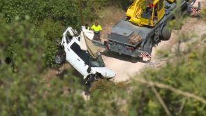 (10-08-18) Libertad bajo fianza para el conductor del coche que cayó a un pantano de Cuenca con una mujer en el interior