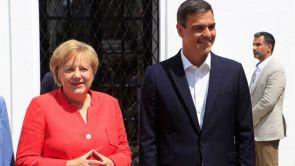 (11-08-18) Sánchez y Merkel debaten en Doñana la política de inmigración, la defensa europea y la reforma del euro