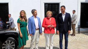 (11-08-18) Sintonía en el encuentro entre Sánchez y Merkel que busca alcanzar una solución conjunta a la crisis migratoria