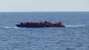 (12-07-18) El buque 'Aquarius', con 141 inmigrantes a bordo, solicita un puerto para desembarcar