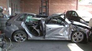 (12-07-18) Mueren tres jóvenes y otros dos resultan heridos en un accidente de tráfico en Balaguer, Lleida