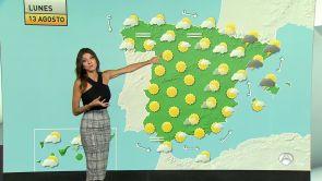 (12-08-18) Cielo nuboso con precipitaciones en el norte, noreste y Canarias