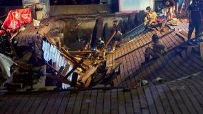 (13-08-18) Más de 300 heridos, cuatro de ellos graves, y escenas de pánico al desplomarse un muelle durante un festival en Vigo